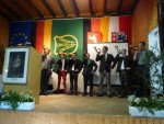 Eröffnung der Abschlussfeier mit Jagdhornklängen
