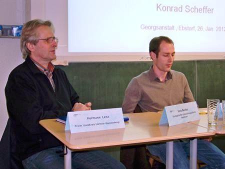 Landwirte Lenz und Schulz: Eher skeptisch!